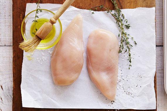 2 Free Range Chicken Breasts